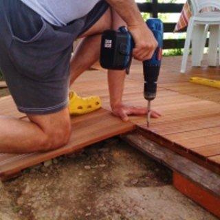 posa pavimento legno esterni