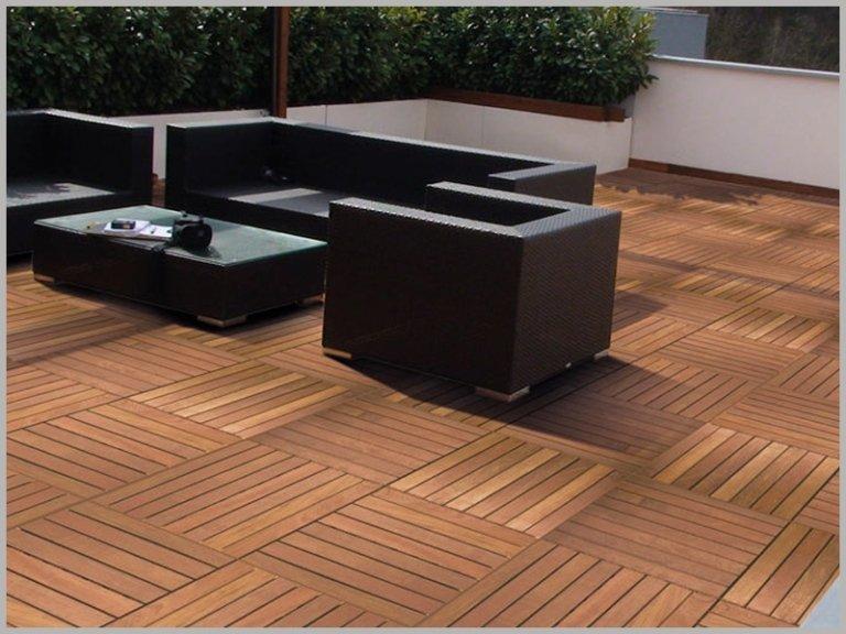 pavimento in legno per giardini