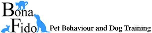 Bona Fido pet Behaviour and Dog Training company logo