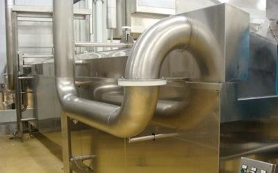 maquinaria producción pasta