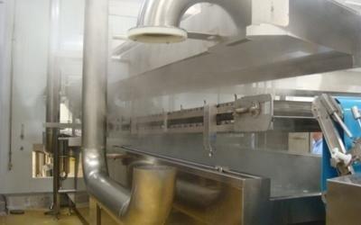 producción pasta banda