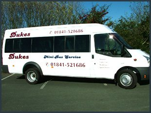 Call Dukes on 01841 521 686 or 07917 338 888