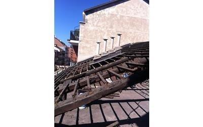 rifacimento tetto (prima)