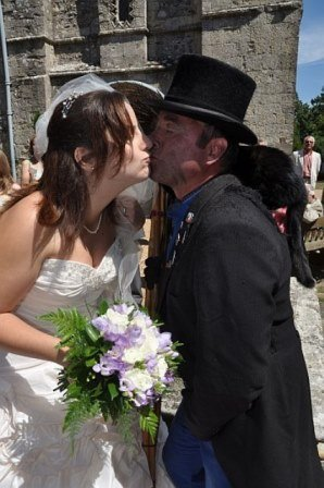 Chimney Sweep Kissing The Bride