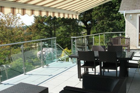 Awnings and balustrades
