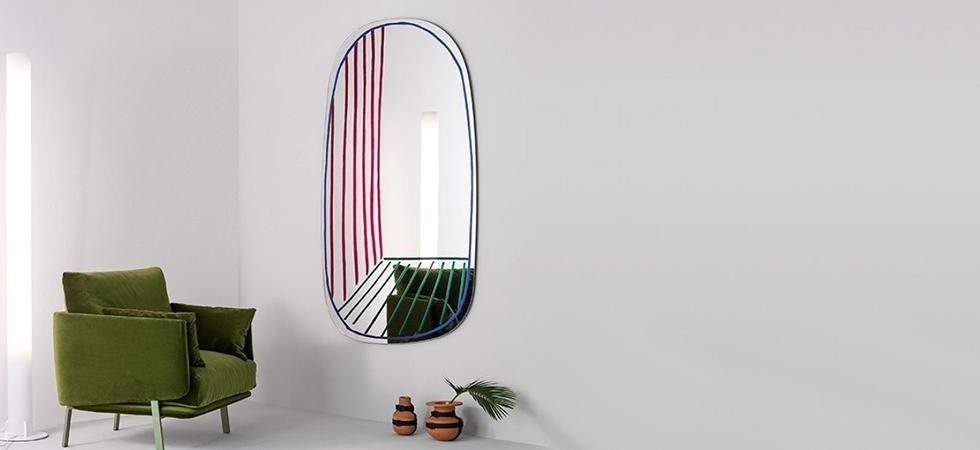 specchio New Perspective Nikos poltrona BONALDO