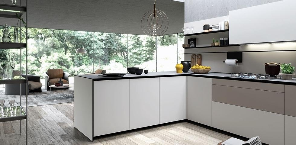 cucina d angolo valcucine