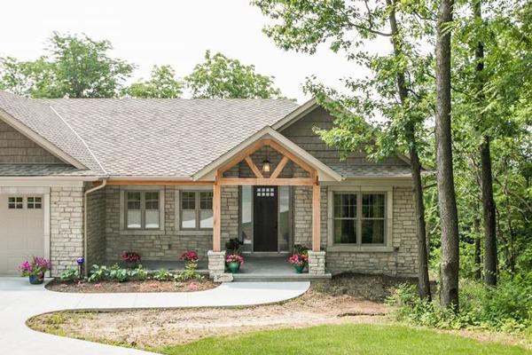 H&H Home Builders Exterior Design Image #15