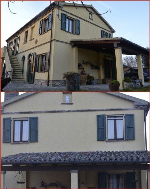 Interventi di manutenzione su tettoie e facciate.