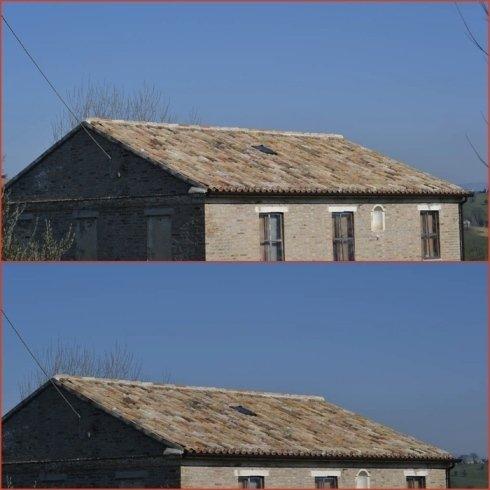 Tetti ventilati e posa pannelli per isolamento termico.