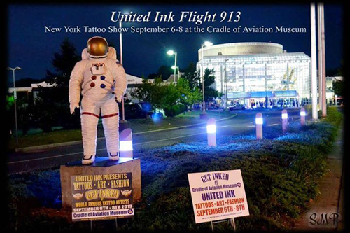 United Ink Flight 913 event advertisement