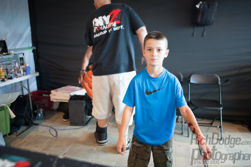 Boy got his first tattoo at the Flight 915 event