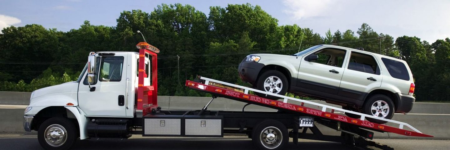 Example of automotive towing in Dalton, GA