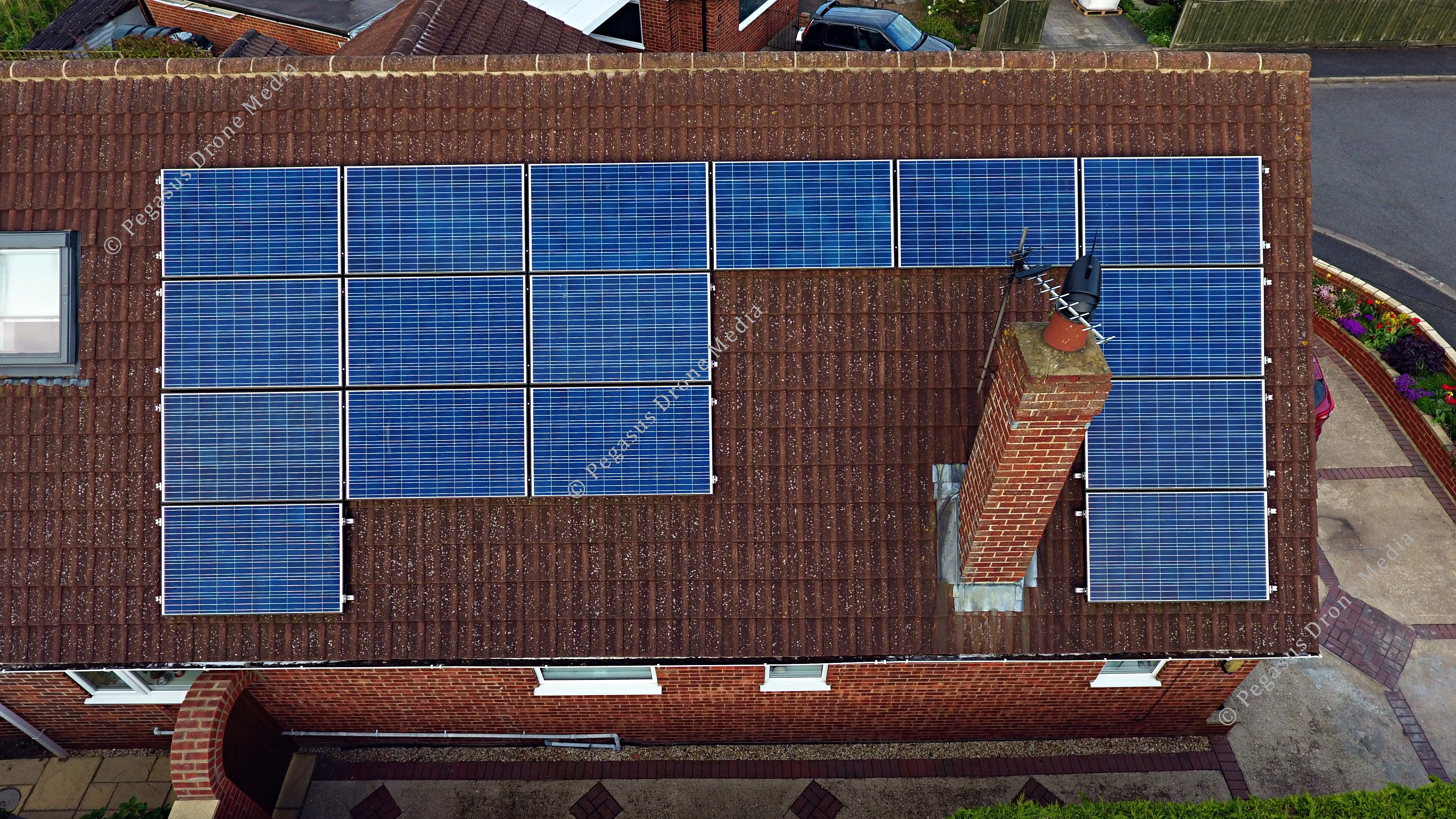 Solar panel inspections by Pegasus Drone Media