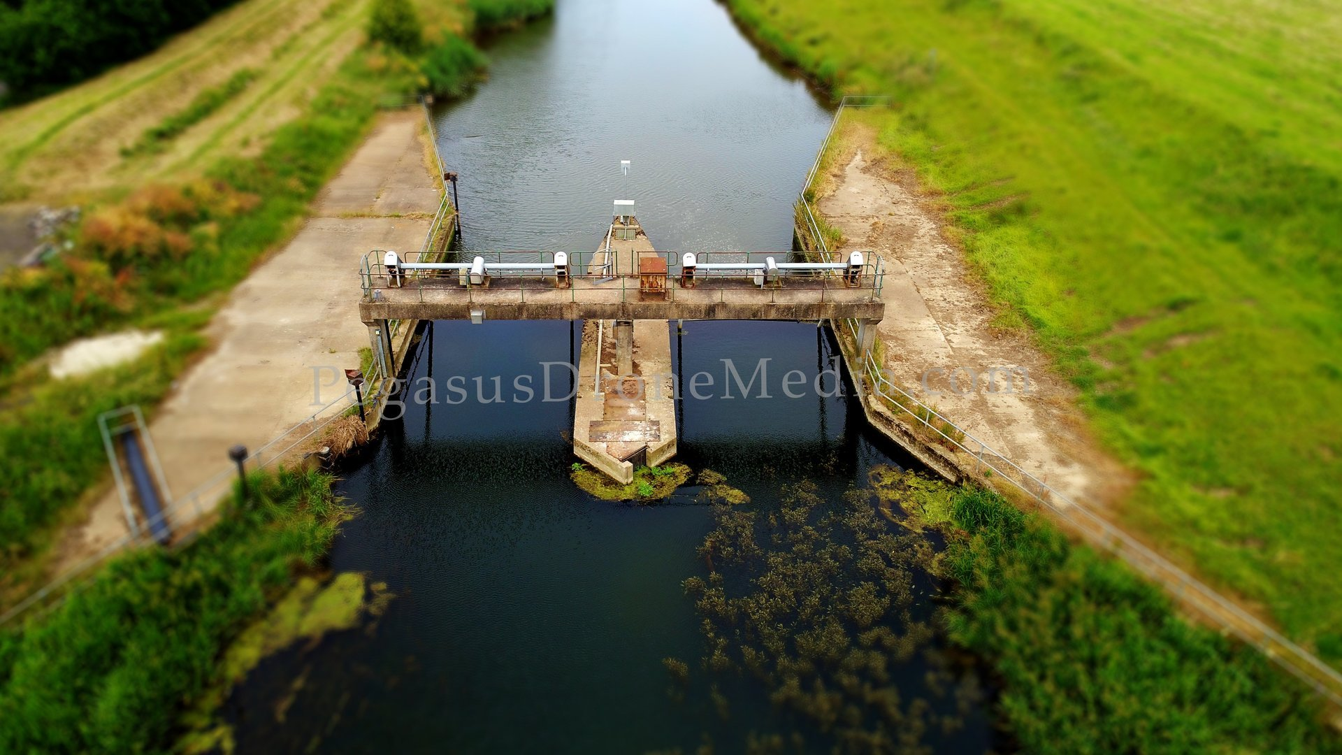 Tetney Lock aerial view 1 from drone