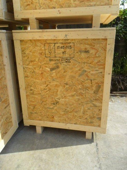fondale in legno