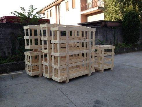 gabbie in legno per trasporti di sicurezza