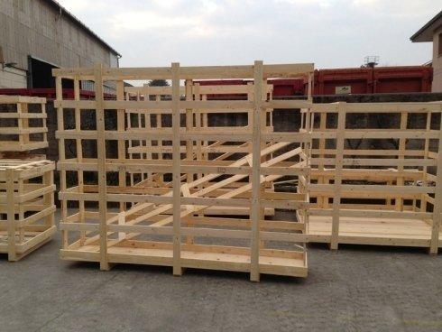 gabbie in legno