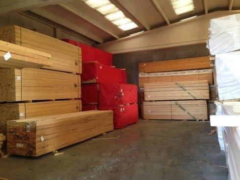 casse in legno per stoccaggio merci