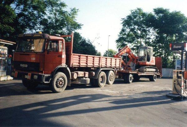 Camion per il trasporto a Verona