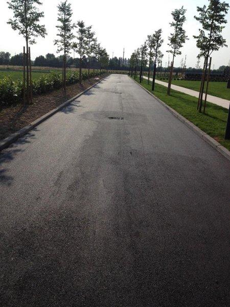 Realizzazione strada di Castel D'Azzano da Trasporti E Scavi Menon a Verona