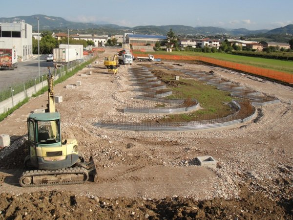 Realizzazione di Trasporti E Scavi Menon dell'Isola ecologica Arbizzano a Verona
