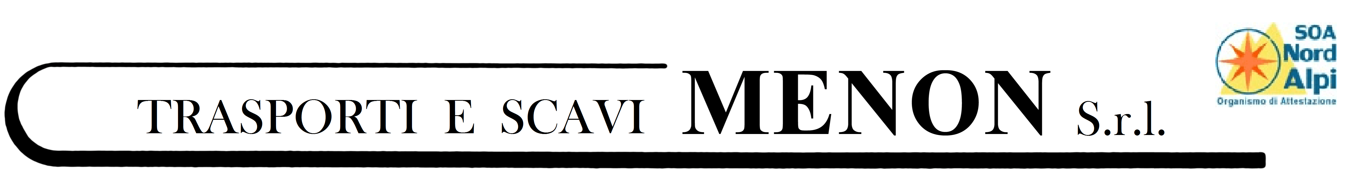 Trasporti E Scavi Menon - Logo