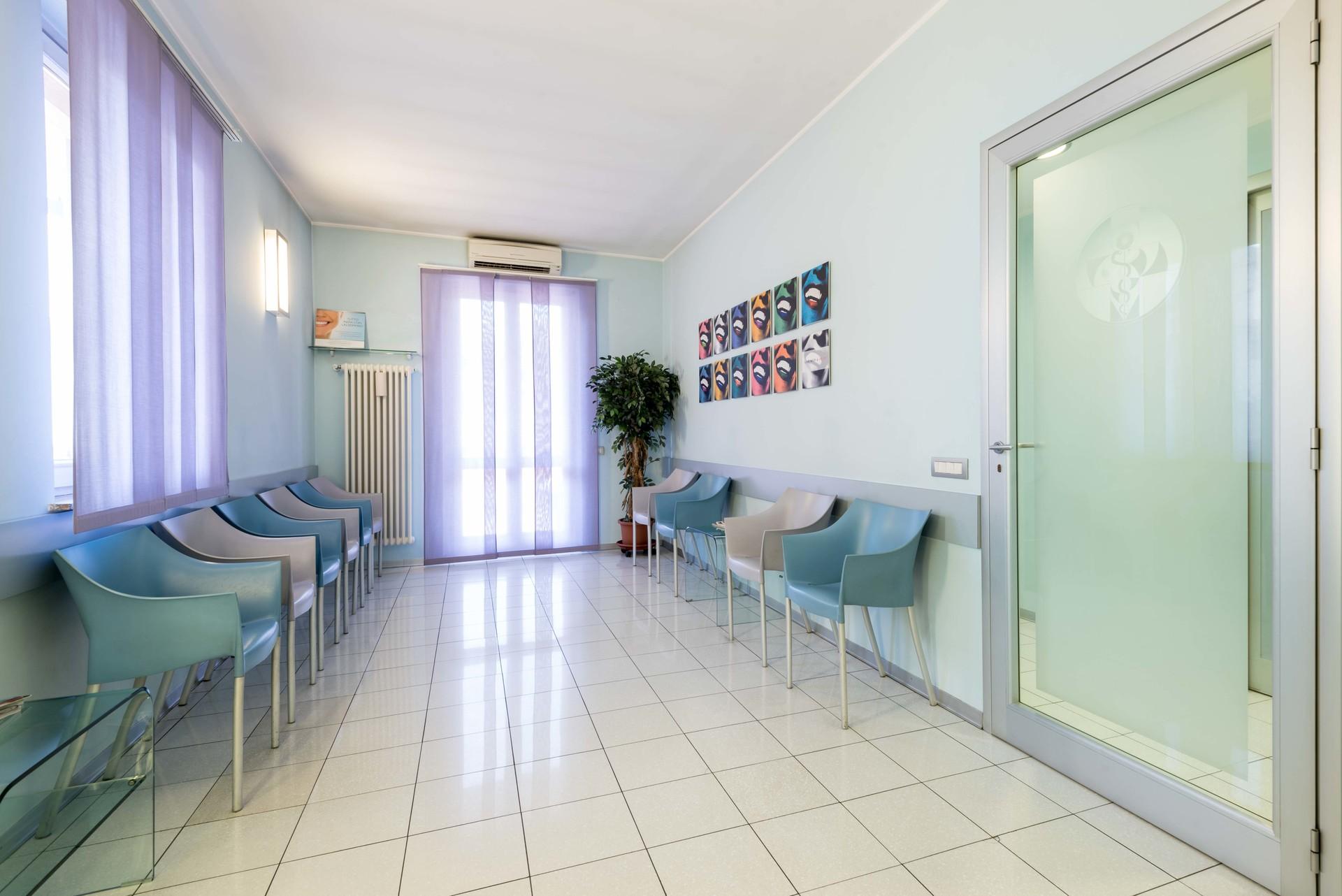 Sala d'attesa dello studio