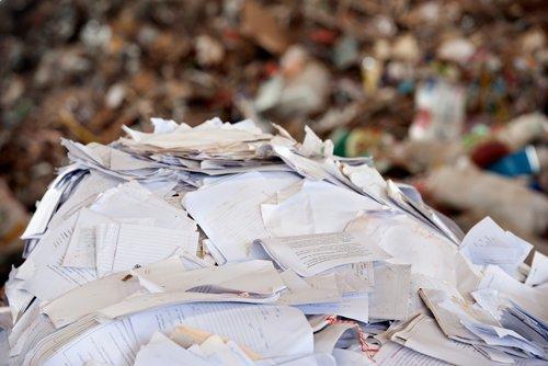 gestione rifiuti cartacei