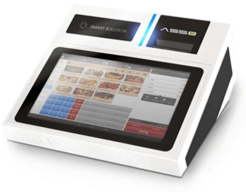 Registratore di cassa marda RCH con touch screen