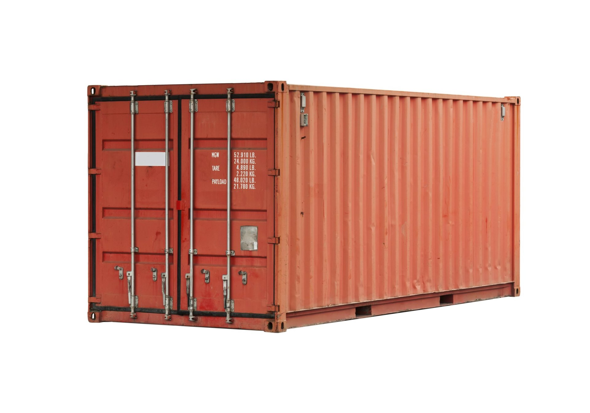outside view of the storage container