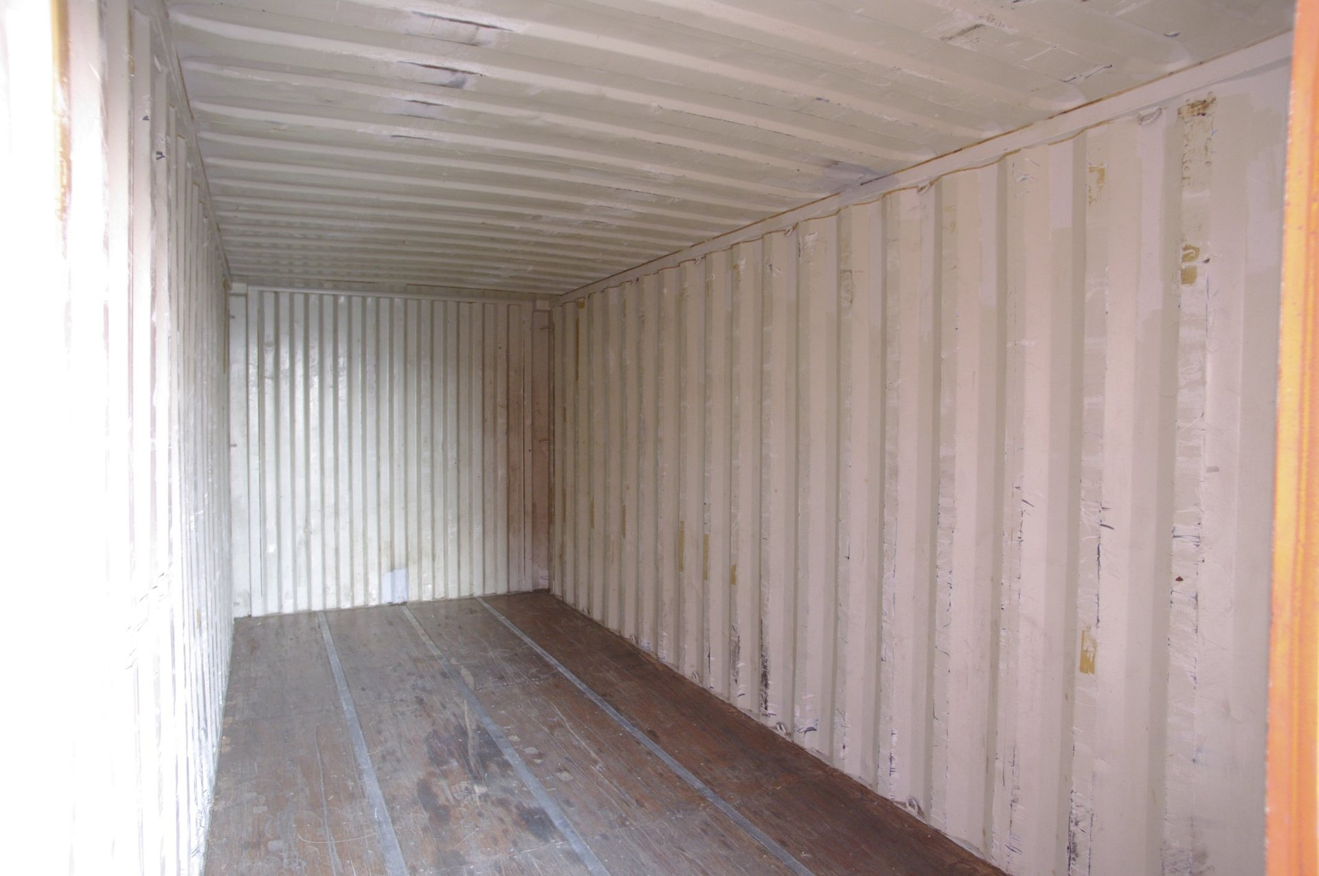 inside the storage container