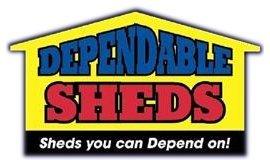 dependable sheds logo