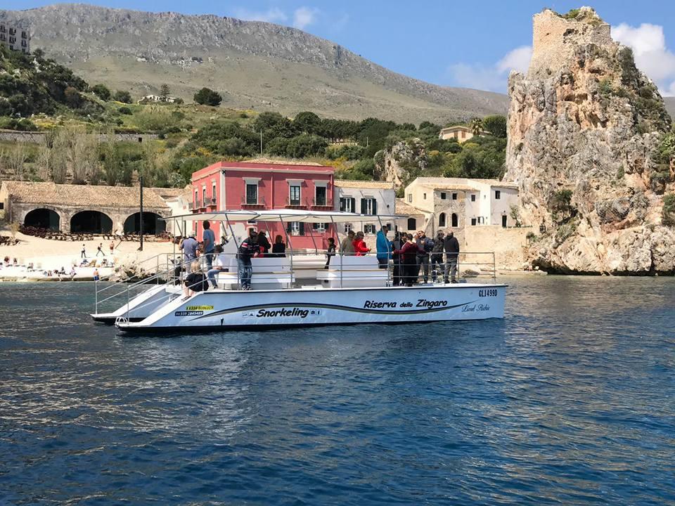 Escursioni in Catamarano Castellammare del Golfo
