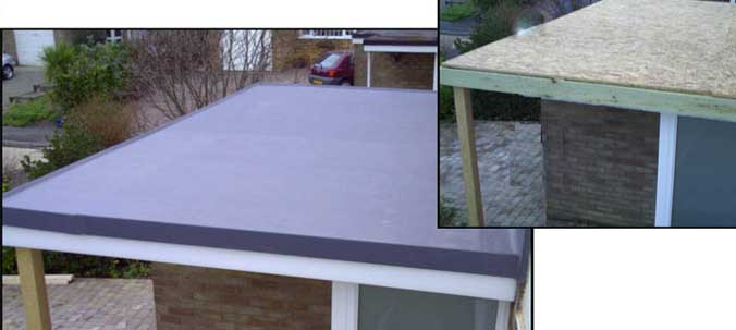 What Is The Difference Between A Traditional Felt Flat Roof And A Membrane Roof