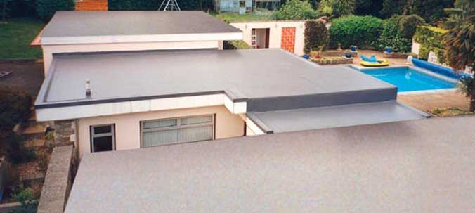 What if my flat roof is damaged by storms or high winds?