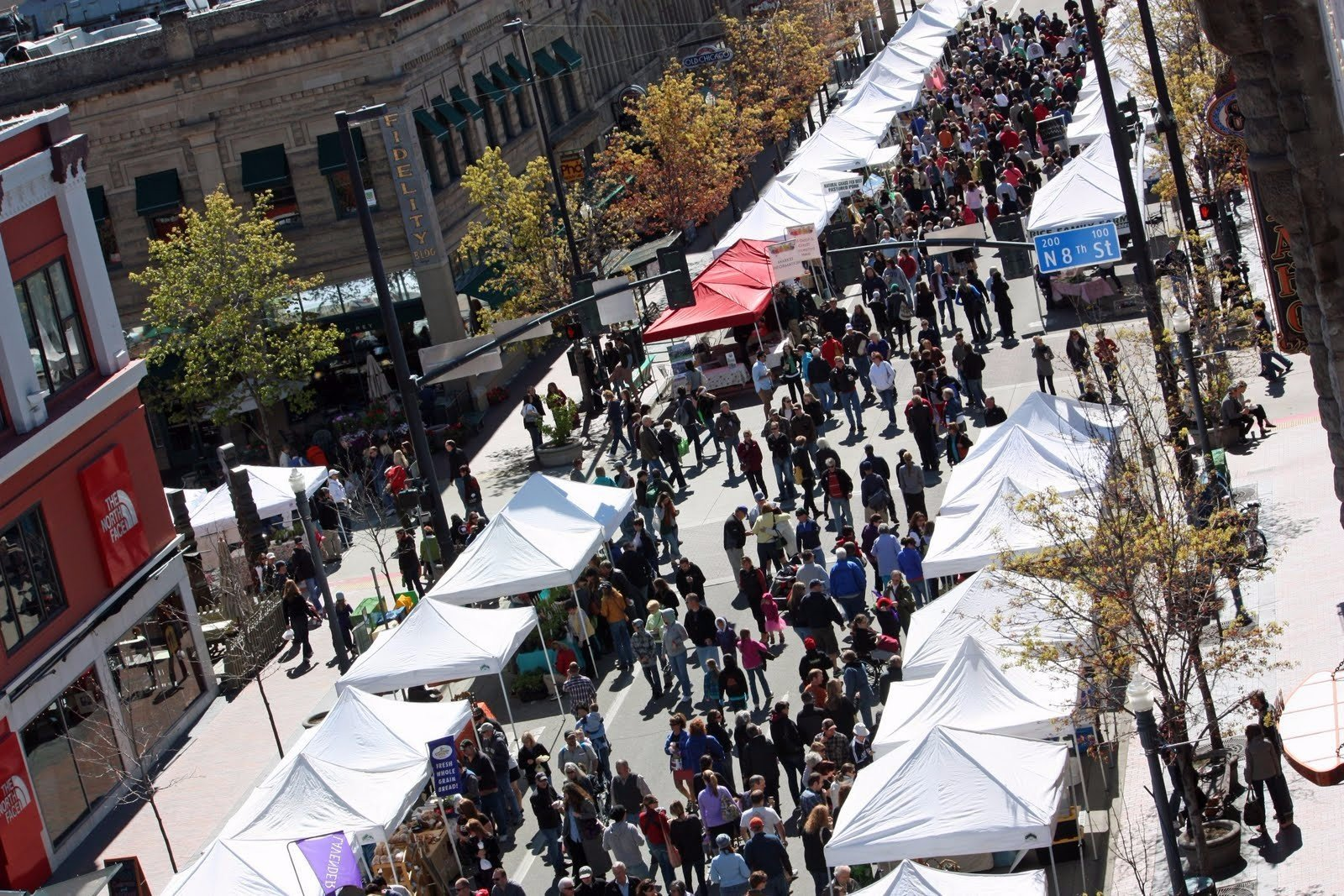 Boise's outdoor Saturday market