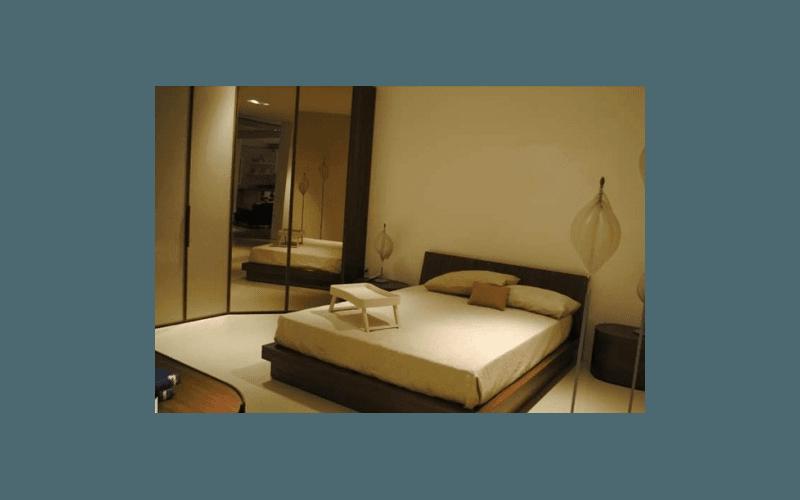 camera da letto magenta