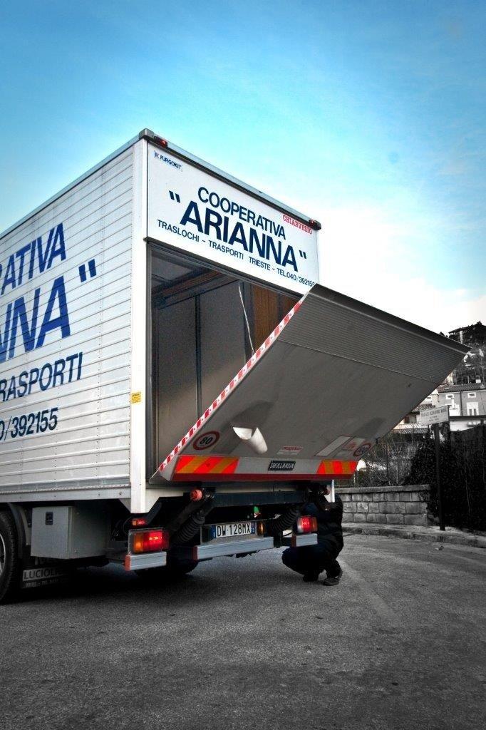 Cooperativa Facchini Arianna - I mezzi