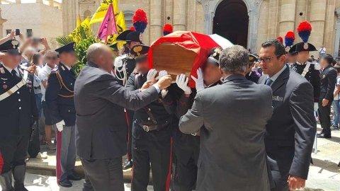 Funerali maresciallo Mirarchi