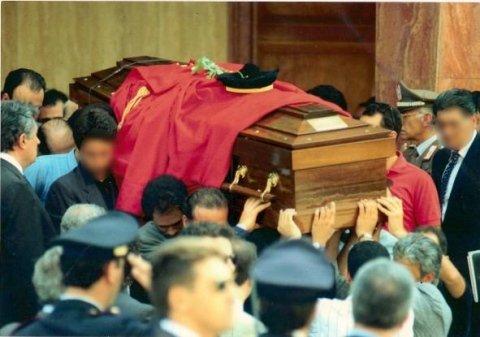 Funerali Paolo Borsellino