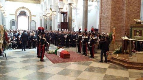 Funerali del Maresciallo Mirarchi