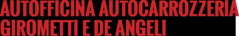 AUTOFFICINA AUTOCARROZZERIA GIROMETTI E DE ANGELI -LOGO