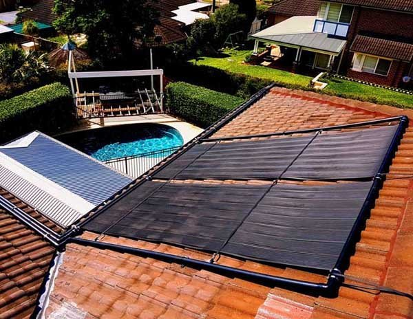 solar thermal heating for pools