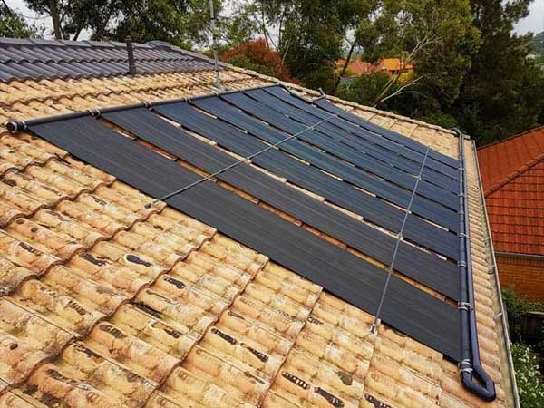 solar panel for pool heating