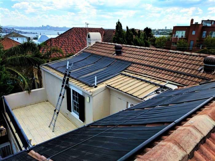 setting up solar panels