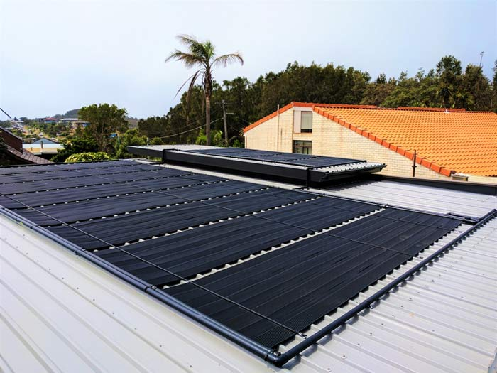 commercial pool heating with solar energy