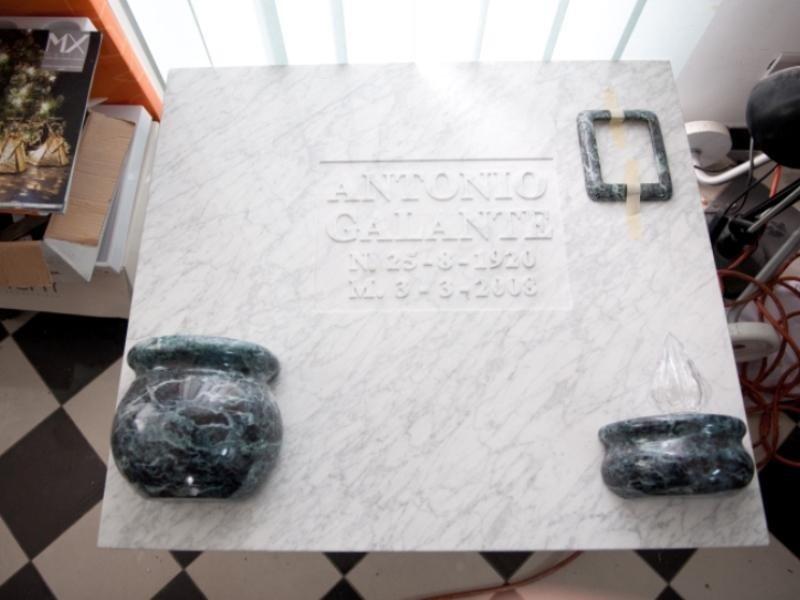Lapidi di marmo