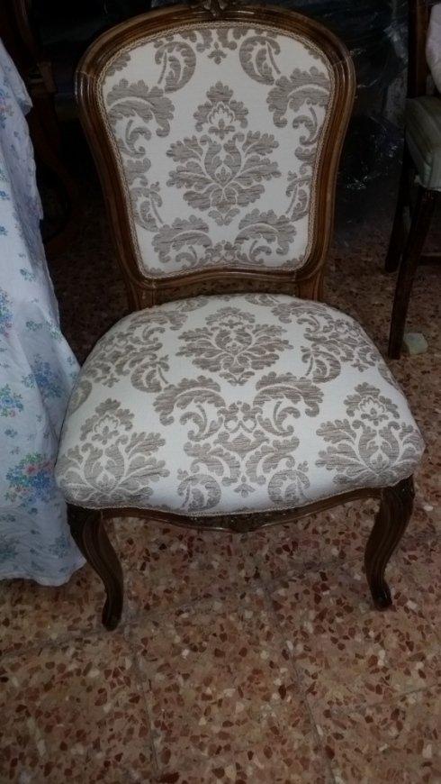 Imbottitura ricamata per sedie