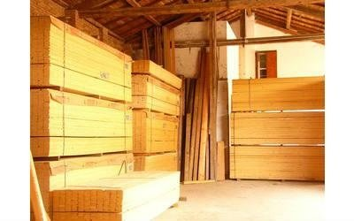 legnami per edilizia